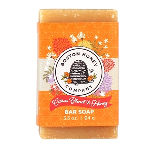 CITRUS BLEND & HONEY BAR SOAP