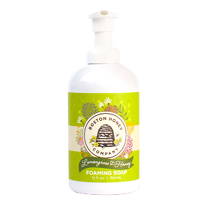 LEMONGRASS & HONEY FOAMING SOAP