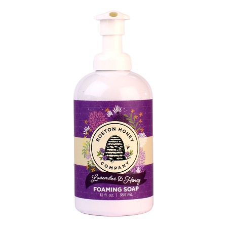 LAVENDAR & HONEY FOAMING SOAP
